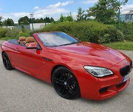 2015 BMW 6 SERIES 640D M SPORT 2DR AUTO HUGE SPEC CONVERTIBLE DIESEL AUTOMATIC