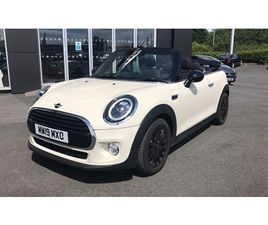 USED 2019 MINI CONVERTIBLE CONVERTIBLE CONVERTIBLE 11,000 MILES IN WHITE FOR SALE | CARSIT