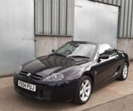 USED 2004 MG MGTF 1.8 135 2D 135 BHP CONVERTIBLE 50,000 MILES IN BLACK FOR SALE | CARSITE