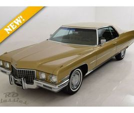 CADILLAC COUPE DEVILLE ONE OWNER CAR