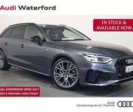 AUDI A4 AVANT 35 TDI S LINE BLACK EDITION FOR SALE IN WATERFORD FOR €52,950 ON DONEDEAL