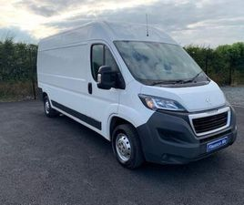 PEUGEOT BOXER 2.0 BLUE HDI H2 PROFESSIONAL FOR SALE IN DOWN FOR £13,950 ON DONEDEAL