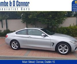 BMW 4 SERIES 420D XDRIVE SE AUTOMATIC SILVER / BL FOR SALE IN DUBLIN FOR €19,950 ON DONEDE