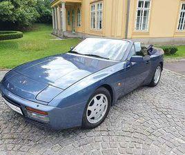 PORSCHE 944 CABRIO IN BLAU ALS GEBRAUCHTWAGEN IN LINZ FÜR € 26.580,-