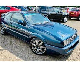 1989 VOLKSWAGEN CORRADO 1.8 8V SUPERCHARGED G60 - LHD. EURO SPEC. 1 UK OWNER.