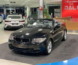 BMW 120I CABRIO SHZ-PDC-LEDER-USB-AUX-