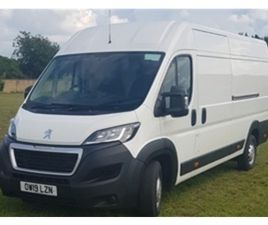 USED 2019 PEUGEOT BOXER BLUE HDI 435 L4H2 PROFESSIONAL PV NOT SPECIFIED 57,000 MILES IN WH