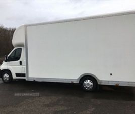 USED 2019 PEUGEOT BOXER 335 BUILT FOR BUSINESS L4 NOT SPECIFIED 25,220 MILES IN WHITE FOR