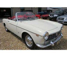 1965 FIAT 1500 SPORT LHD CONVERTIBLE PETROL MANUAL