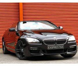 2013 BMW 6 SERIES 3.0TD 640D M SPORT (313BHP) (S/S) CONVERTIBLE 2D - £17,994