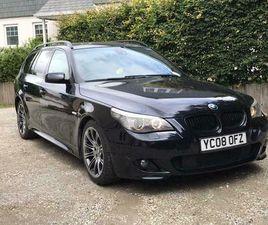 BMW 535D LCI TOURING ESTATE 3.0 TWIN TURBO DIESEL M SPORT 136K MILES