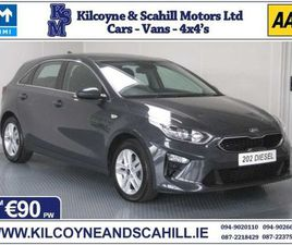 2020 KIA CEED 1.6 CRDI NAV *FROM €90 PW* FOR SALE IN MAYO FOR €24,500 ON DONEDEAL
