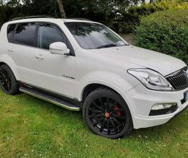 SSANGYONG REXTON FOR SALE IN MEATH FOR €16,250 ON DONEDEAL