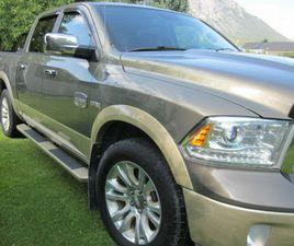GRANDMA'S 2013, DODGE 1500 LONGHORN MEGACAB EXCELLENT CONDITION   CARS & TRUCKS   CRANBROO