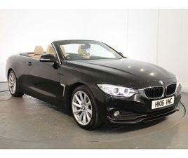 BMW 4 SERIES 2.0 420D SE CONVERTIBLE 2DR DIESEL AUTO (116 G/KM, 190 BHP)
