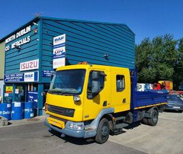 DAF LF CREW CAB TIPPER FOR SALE IN DUBLIN FOR €UNDEFINED ON DONEDEAL