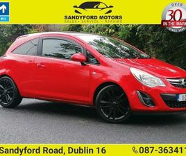 OPEL CORSA SPECIAL EDITION 1.2I 2DR FOR SALE IN DUBLIN FOR €4,950 ON DONEDEAL