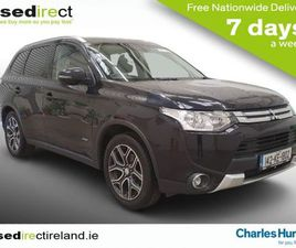 MITSUBISHI OUTLANDER 2.2 DI-D 4X4 GX3 148 (89) FOR SALE IN DUBLIN FOR €12,995 ON DONEDEAL
