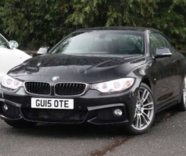 BMW 4 CONVERTIBLE 428I 2.0 M SPORT 2DR AUTO PRO NAV 19IN ALLOYS CONVERTIBLE COMFORT PACK C
