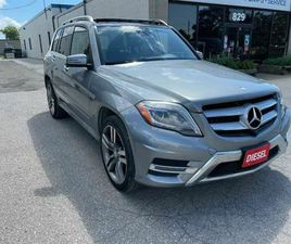 2014 MERCEDES-BENZ GLK-CLASS 250 BLUETEC/DIESEL .... NAVIGATION/PANORAMIC ROOF AND MORE...