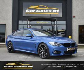 2016 BMW 4 SERIES 3.0TD 430D M SPORT (S/S) GRAN COUPE 5D - £18,400