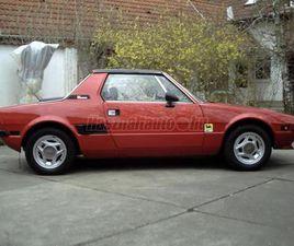 ELADÓ HASZNÁLT FIAT X1/9 MODELL B, 1978/5, BÍBORVÖRÖS SZÍNŰ