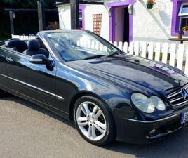 MERCEDES CLK CONVERTIBLE FOR SALE IN CORK FOR €3,950 ON DONEDEAL