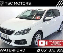 PEUGEOT 308 FRONT AND REAR PARKING SENSORS REAR FOR SALE IN WATERFORD FOR €16,495 ON DONED