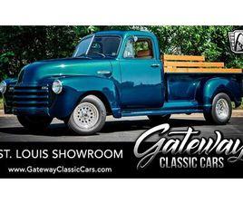 FOR SALE: 1952 CHEVROLET 3100 IN O'FALLON, ILLINOIS