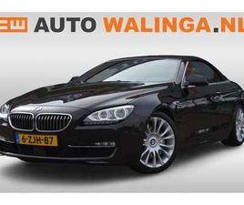 BMW 640 CABRIO 640I INDIVIDUAL EDITION, NWPRIJS 145K, NL A