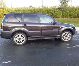 SSANGYONG REXTON 2.7 XDI AUTO 5SEATERCOMMERCIAL FOR SALE IN CORK FOR €2,150 ON DONEDEAL