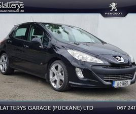 PEUGEOT 308 1.6 THP GTI 200BHP 5DR FOR SALE IN TIPPERARY FOR €7,995 ON DONEDEAL