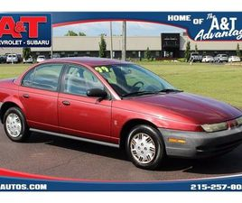 RED COLOR 1999 SATURN S-SERIES SL SL1 FOR SALE IN SELLERSVILLE, PA 18960. VIN IS 1G8ZH5286
