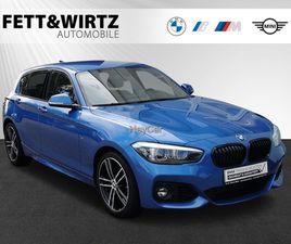 BMW 116I EDITION M SPORT 18''LM SPORTS. LED NAVI HIFI, JAHR 2019, BENZIN