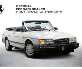 1991 SAAB 900 2D CONVERTIBLE