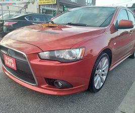 USED 2009 MITSUBISHI LANCER RALLIART-EXTRA CLEAN-4WD-BLUETOOTH-AUX-USB-ALLOYS