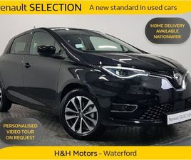 RENAULT ZOE GT LINE R135 DEMO 16 DIAMOND-CUT AL FOR SALE IN WATERFORD FOR €29,995 ON DONED