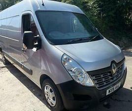 2016 16 RENAULT MASTER 2.3DCI ( FWD ) LM35 125 BUSINESS+ / AIR-CON / NAV