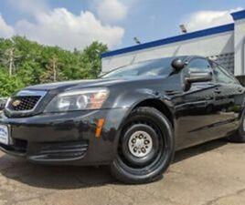 2013 CHEVROLET CAPRICE POLICE 9C1 6.0L V8