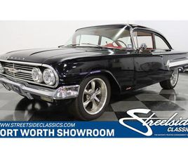 FOR SALE: 1960 CHEVROLET BEL AIR IN FT WORTH, TEXAS