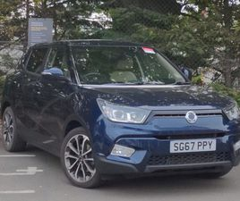 USED 2017 (67) SSANGYONG TIVOLI 1.6 ELX 5DR IN STIRLING