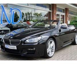 BMW 640D CAB. M-PAKET/SPORTPAKET LED HARMANK S.CLOSE