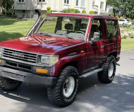 FOR SALE: 1991 TOYOTA LAND CRUISER FJ IN JERSEY CITY, NEW JERSEY