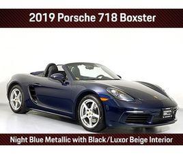 2019 PORSCHE 718 BOXSTER BASE
