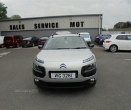 USED 2016 CITROEN C4 CACTUS FLAIR EDTN BLUE NOT SPECIFIED 59,500 MILES IN SILVER FOR SALE