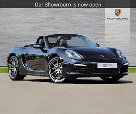 PORSCHE BOXSTER ROADSTER SPECIAL EDITION 2.7 BLACK EDITION 2DR PDK