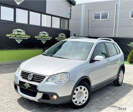VW POLO CROSS - CUTIE AUTOMATA - RATE FIXE SI EGALE/ GARANTIE / LIVRARE GRATUITA LA DOMICI