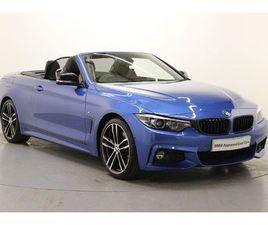 BMW 4 SERIES 420I M SPORT CONVERTIBLE AUTO 2.0 2DR