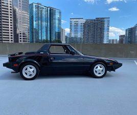 USED 1987 FIAT X1/9