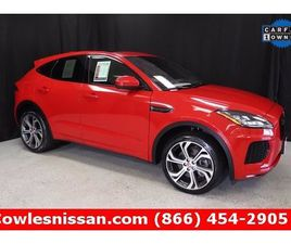 USED 2018 JAGUAR E-PACE FIRST EDITION